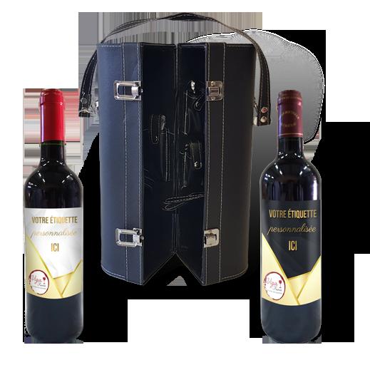 Etiquette Vin Rose Personnalise Anniversaire Cadeau Invite